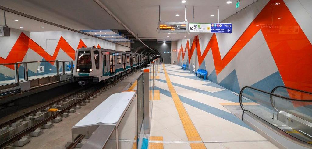 Nová stanice metra v bulharské Sofii